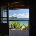 A room with a view, Speyside Inn, Tobago