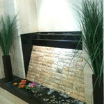 Water Feature in the dining area