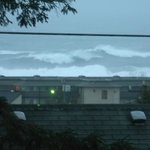 View from 2nd floor balcony. Ocean was rough that day.