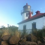 A day of fishing at the Alki Light house