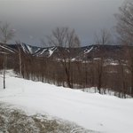                    The view of the ski resort from A-16