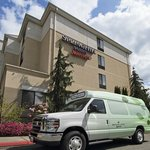 Hotel shuttle available 7 days a week for local transportation needs