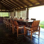 Long House where we had meals