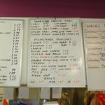 Menu Boards - Remember prices do change