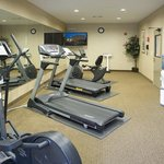 Our fitness center leaves nothing to be desired.