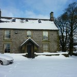 Hurdlow Grange in the snow