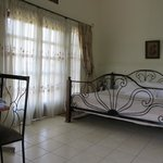 Double Room number 1 - ground floor and balcony
