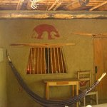 Great relaxation time... hammocks!