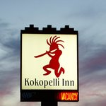 Kokopelli Inn sign