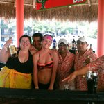 Our swim up bar bartenders! Awesome group of guys!
