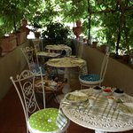                    The prettiest eating spot in Italy?