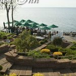Winery deck overlooking Lake Erie
