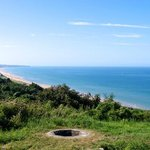                    Bluff overlooking Omaha Beach, Normandy France