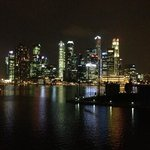 Singapore at night!