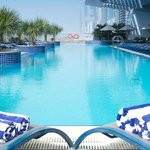 25 meter long outdoor swimming pool