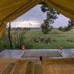 Traditional Luxurious Safari Tent - Private Dining