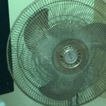                    &quot;Air conditioner&quot;, a nasty fan with caked-on grease and hair, lint, dust and d