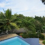  Ausblick vom Blue Havern Guesthouse (Pool)