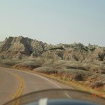                    Riding around the Badlands