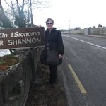                    The bridge over the Shannon