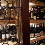 Wide selection of wines available