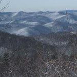 Dusting on the Blue Ridge Mts