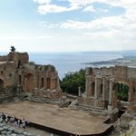 Greek amphitheater in Taormina