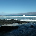 This beach is 5 minute walk from Puako B&B - beautiful!