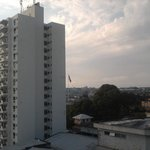                    Vista frontal do hotel