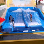 The FlowRider at Flow House Bangkok: fun, chill, exciting!