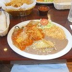                    Chilie Relleno Plate