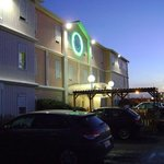Hotel Quick Palace Tours Nord, entrada, Tours, Francia.