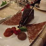  Yummy chocolate dessert