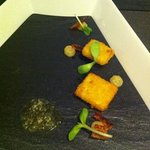 8th dish of the tasting menu