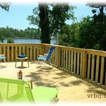 2515 Wrap around huge deck with water view
