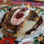  French toast with yoghurt
