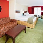  Hotel near Mesa Soccer complex.  Two queen bed Exeuctive Suite.