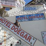                    Front of hotel doegar