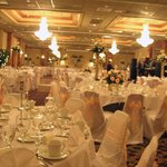 Have your elegant reception  in our Diamond Ballroom
