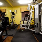 Work out in our fitness Center throughout your stay!
