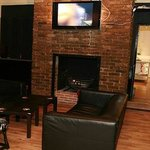 We provide couches and a tv for our guests