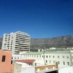 The Table Mountain from our room.