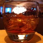 $8.50 & tip half full Disaronno