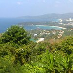                    View from Karon Point
