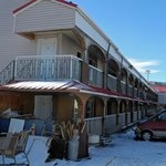  View from rear of motel, Feb 2013
