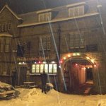                    The &#39;snowy&#39; hotel