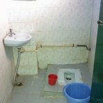 the washroom we recieved after booking one