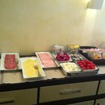                    More of the breakfast buffet