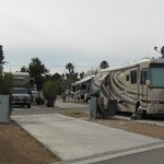                    RV parking pad