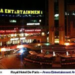 Royal Hotel De Paris Arena Entertainment Area